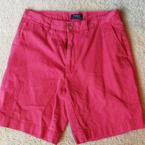 Polo Ralph Lauren red shorts 32
